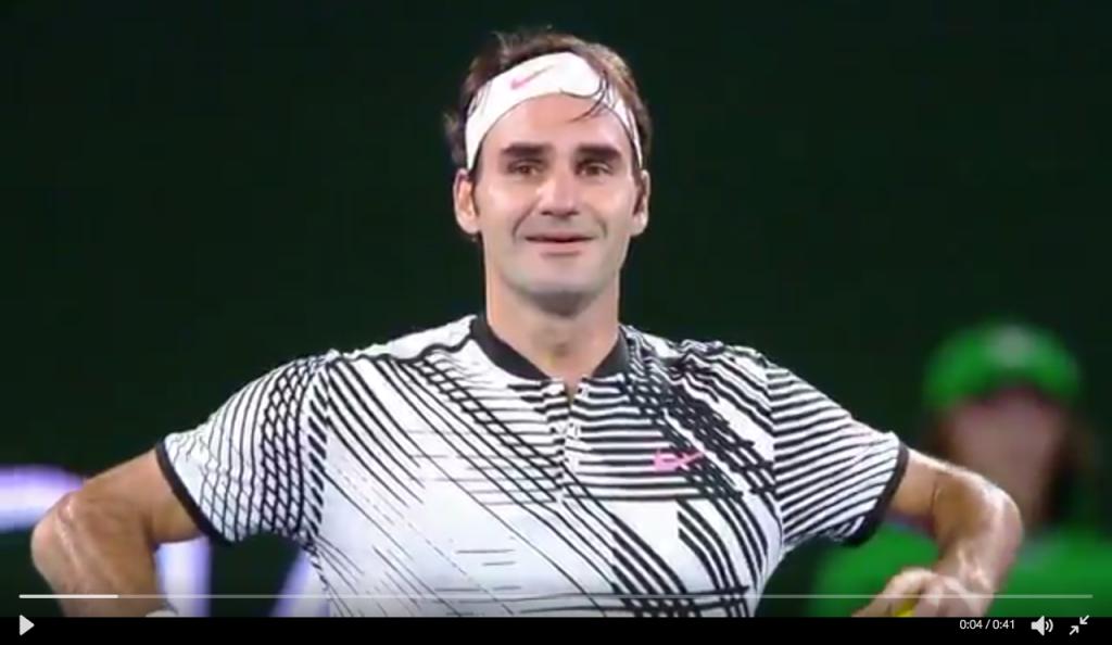 OA 2017 : Le meilleur de Federer en vidéos