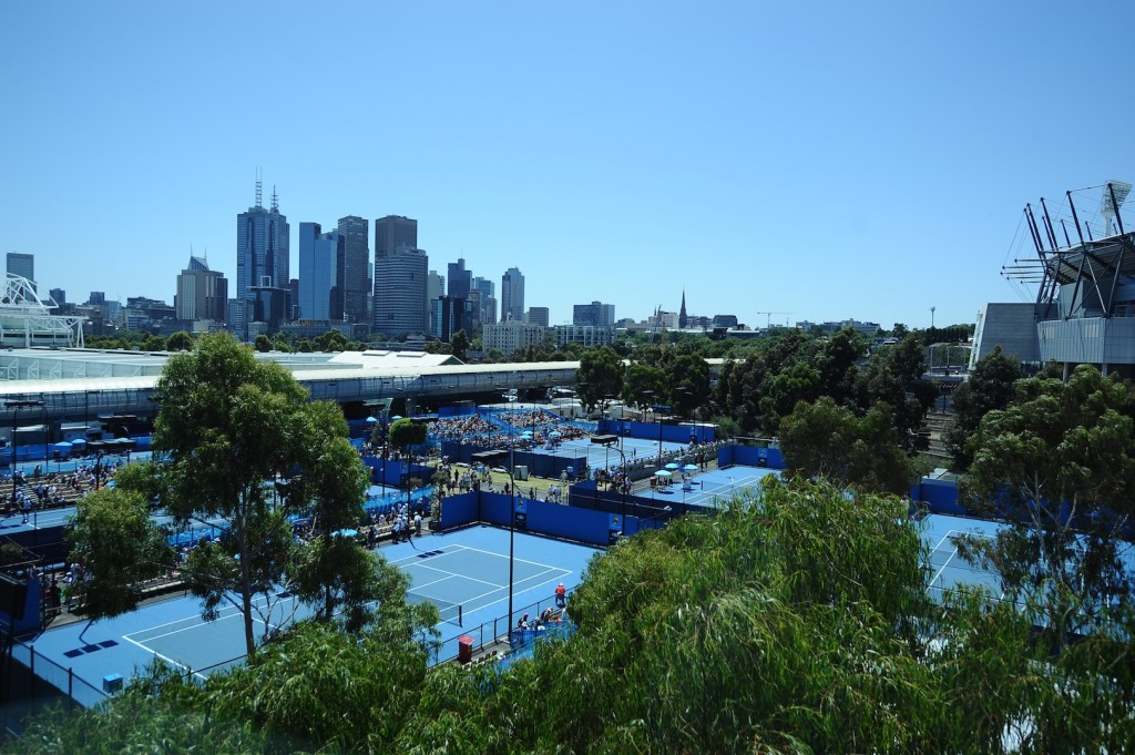 D'un court à l'autre, c'est « freestyle » à l'Open d'Australie !