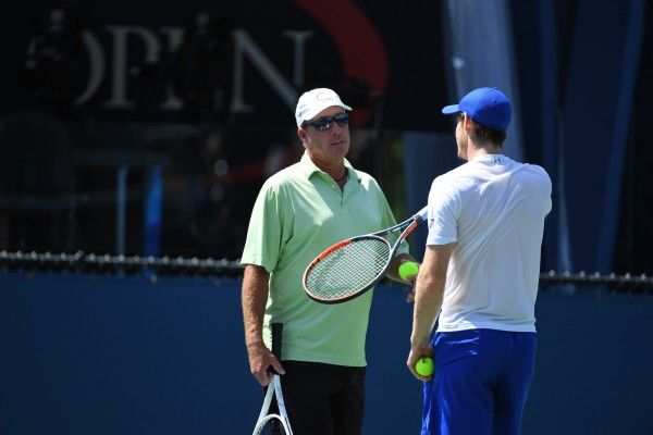 Andy Murray (GBR) Ivan Lendl (CZE)