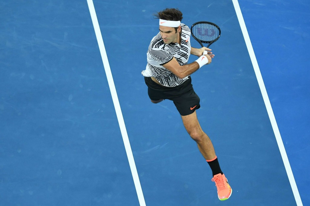 Roger Federer a marché sur l'eau : le top 5 de la finale en vidéo