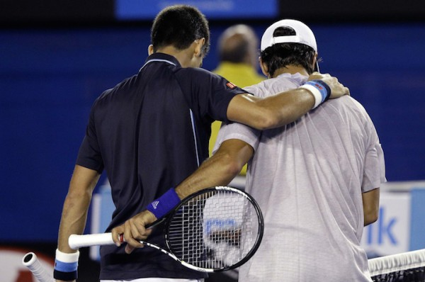 En 2015, Djokovic avait battu Verdasco en trois sets à Melbourne (photo ©SIPA)