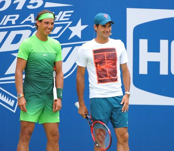 On a hâte de voir à l'œuvre Rafael Nadal et Roger Federer à Melbourne.