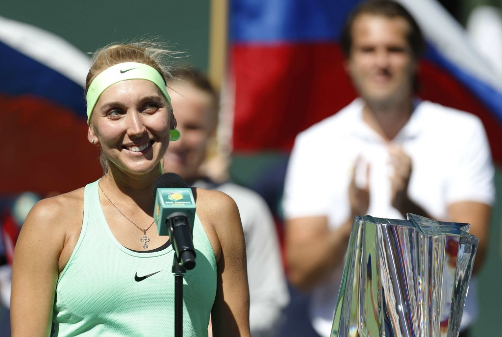 Indian Wells, Sharapova, Playboy: 5 choses à savoir sur Elena Vesnina
