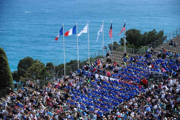 A Monte-Carlo, en 2012, la France s'incline face aux USA en quart de finale.