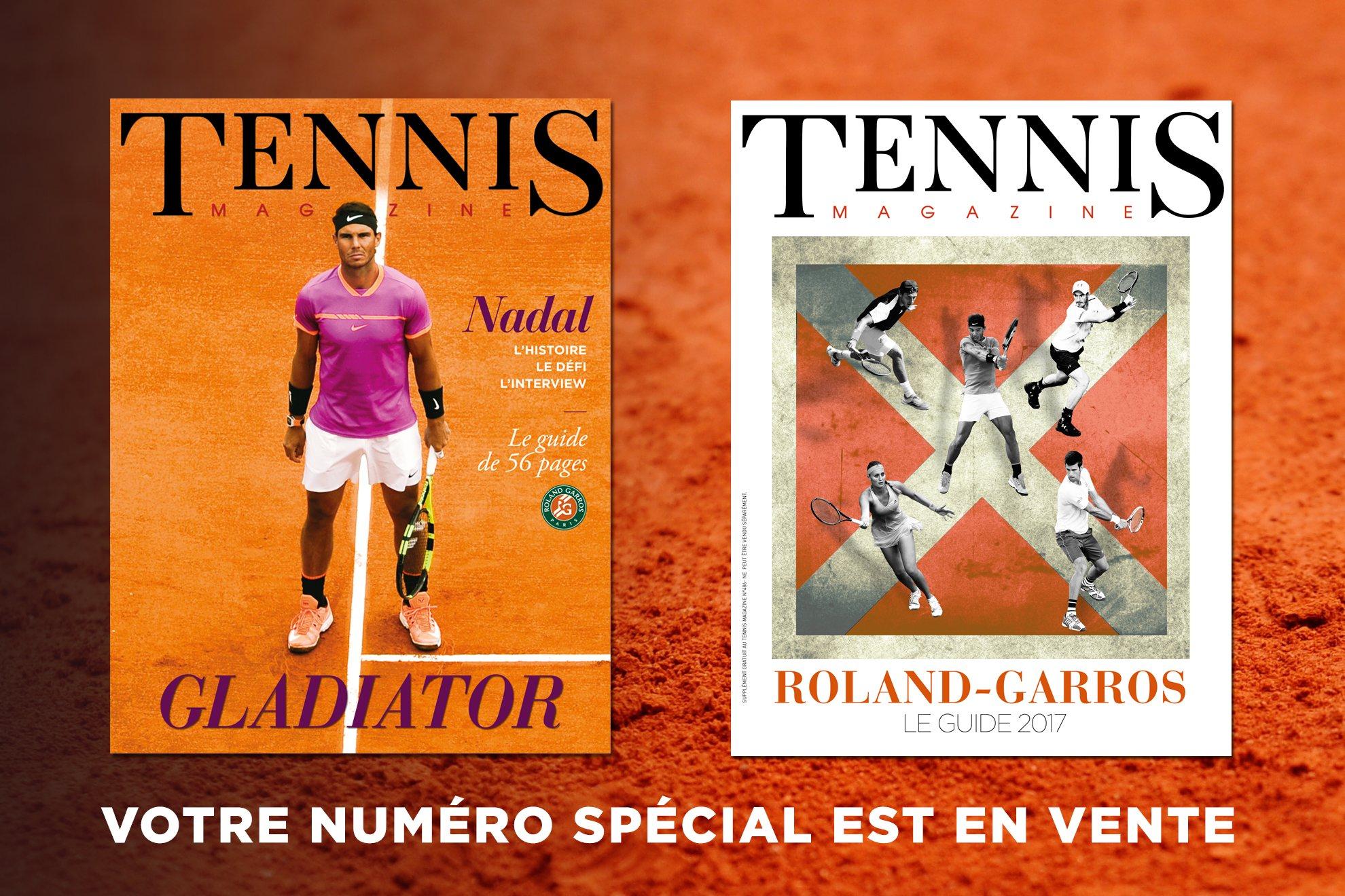best service 3f871 31c84 Votre nouveau Tennis Magazine est disponible en kiosque et sur notre site  internet en version papier et numérique. Voici que ce TM n°486 vous réserve