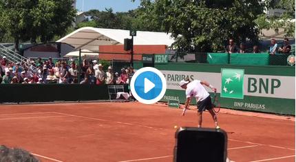 Roland-Garros : l'émotion et les mots de Paul-Henri Mathieu