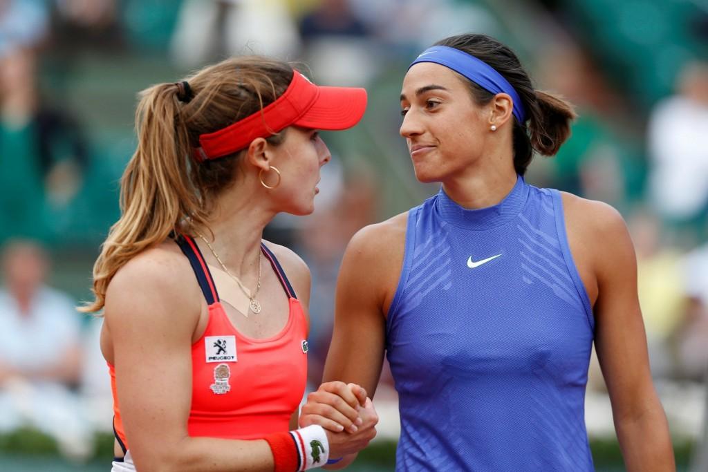 Vidéo : La bise entre Caroline Garcia et Alizé Cornet !