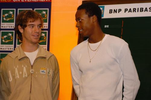 Richard et Gaël en 2004, l'année de leur première rencontre sur le grand circuit.