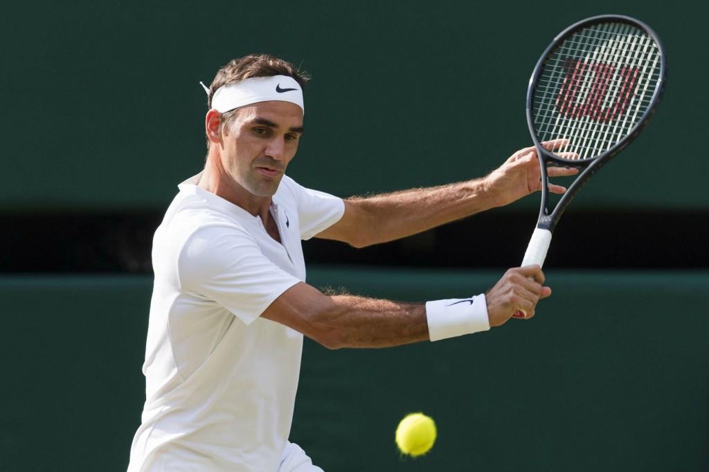 Wimbledon (vidéo) : Le superbe retour amortie de Federer