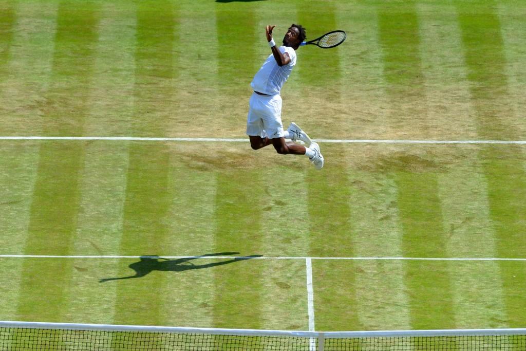Wimbledon (Vidéo) : Les deux coups de génie de Monfils