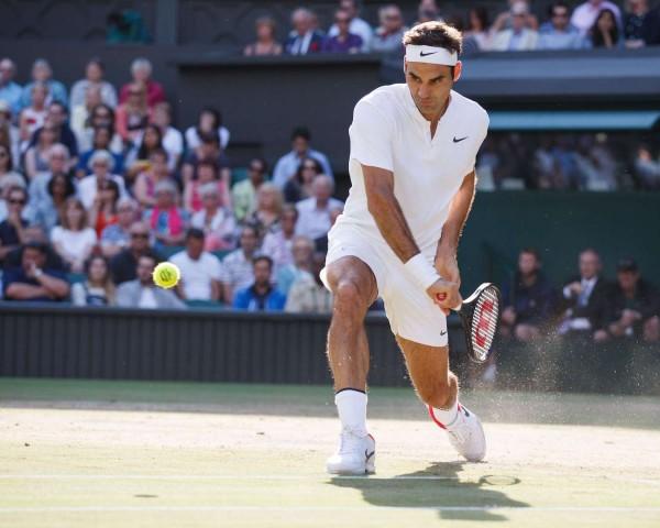 Mandatory Credit: Photo by Juergen Hasenkopf/REX/Shutterstock (8961716ac) Roger Federer Wimbledon Tennis Championships, London, UK - 14 Jul 2017 /Rex_Wimbledon_Tennis_Championships_London_UK_8961716AC//1707150237
