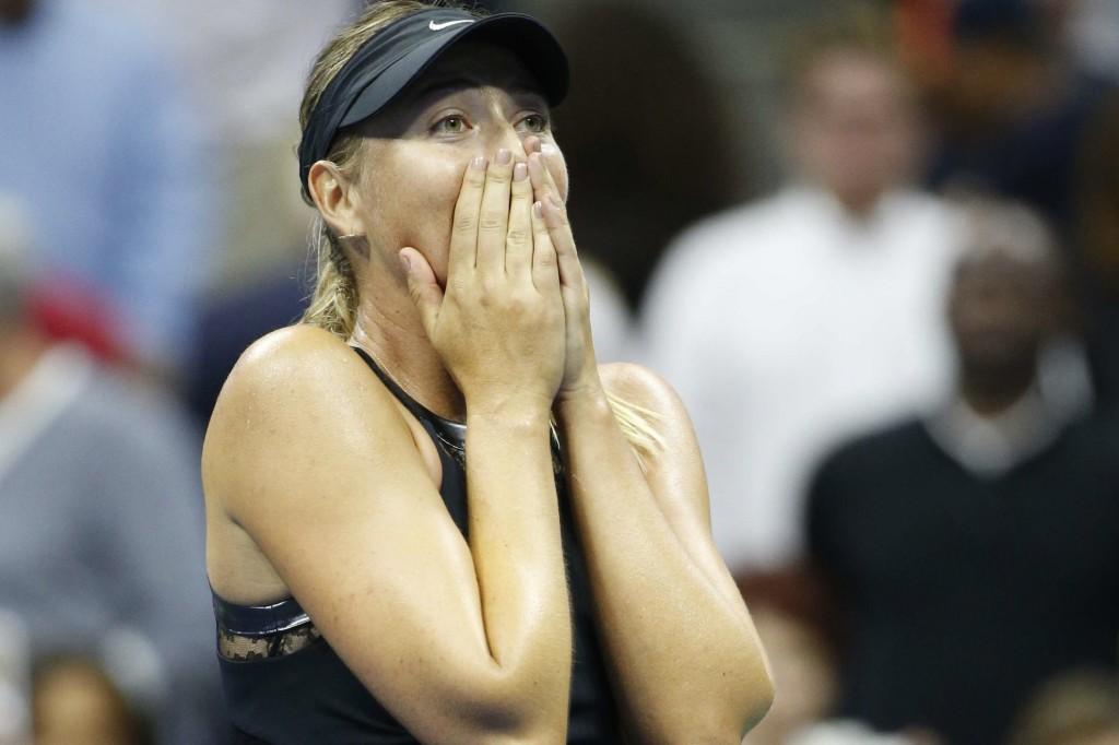 US Open : les larmes de Sharapova, les fesses de Pouille