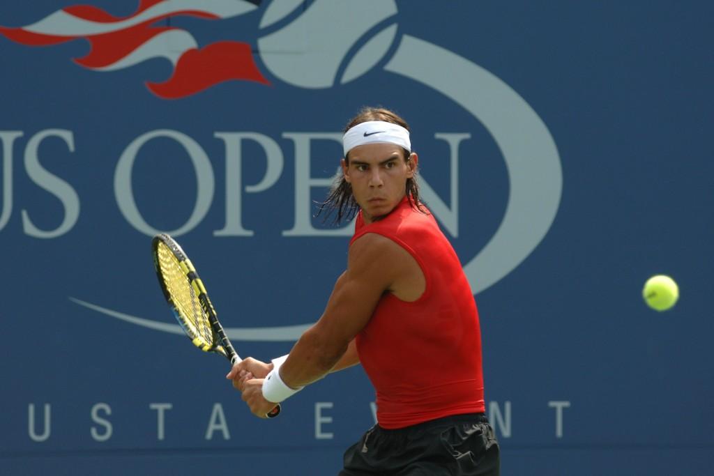 Vidéo : Les premiers pas de Rafael Nadal à l'US Open