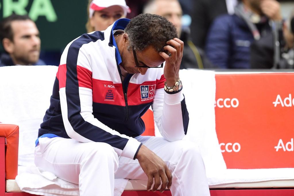 Coupe Davis : Au bout du rouleau, Noah ?