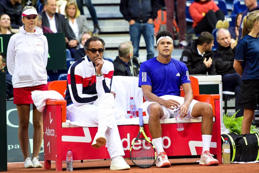 Coupe Davis : Pourquoi Noah et Tsonga ne se sont pas parlé ?