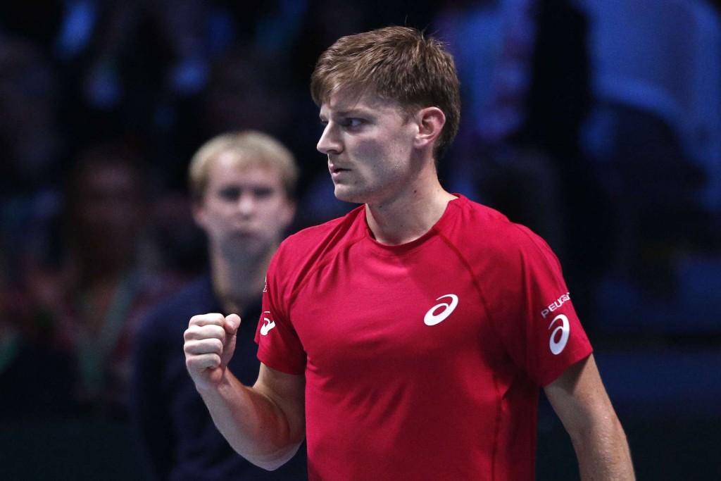Coupe Davis : Goffin domine Pouille au premier match