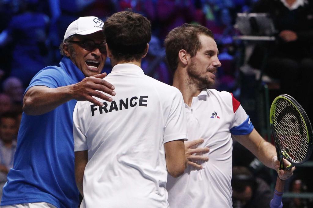 Coupe Davis: La France mène grâce au double Gasquet/Herbert