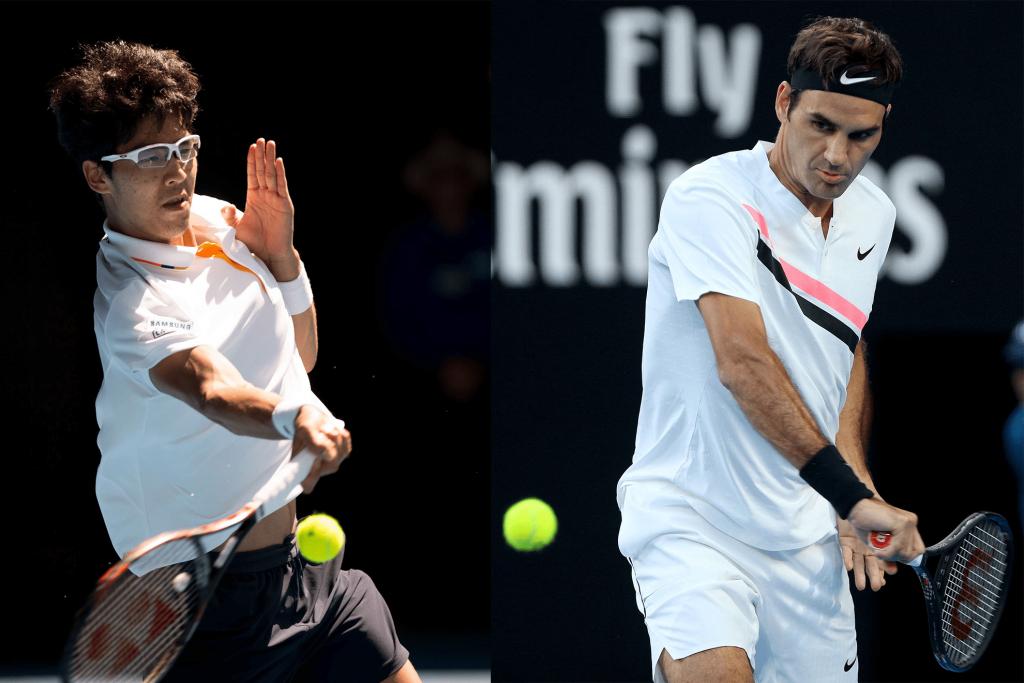 OA 2018, le match du jour : Federer-Chung
