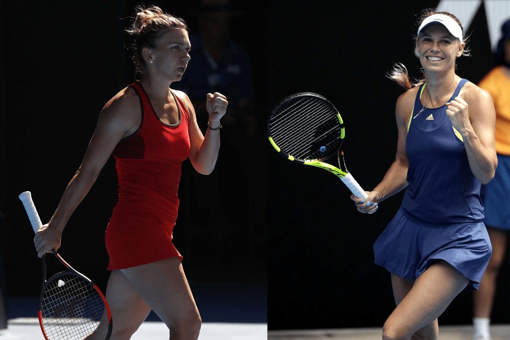 OA 2018 : Halep-Wozniacki, un duel à distance pour le leadership