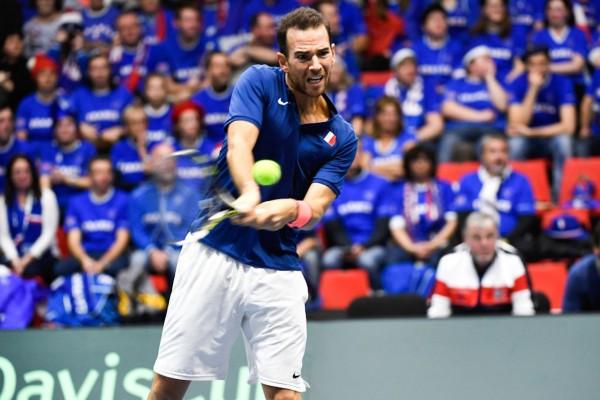France v Netherlands - Davis Cup - Day 1
