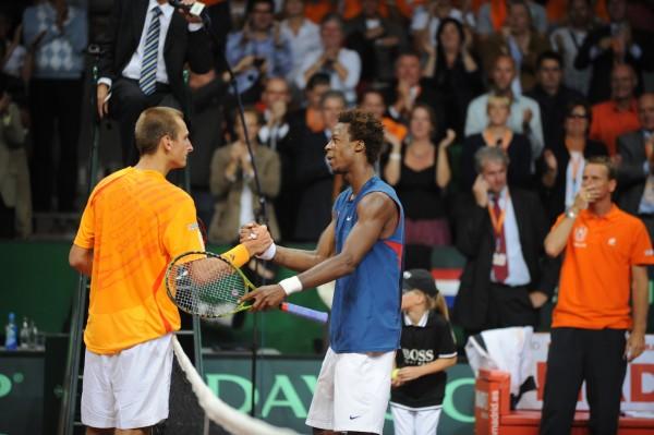 En 2009, lors d'une rencontre de barrages de coupe Davis, Thiemo obtient face à Gaël Monfils l'une des plus belles victoires de sa carrière.
