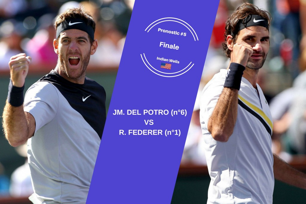 Indian Wells, le match du jour : Del Potro-Federer