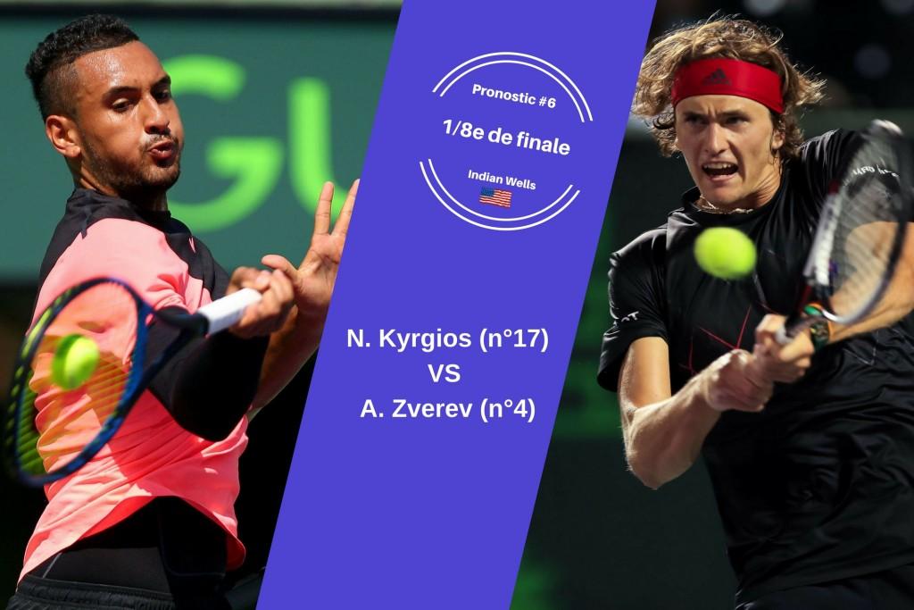 Miami, le match du jour : Kyrgios-Zverev