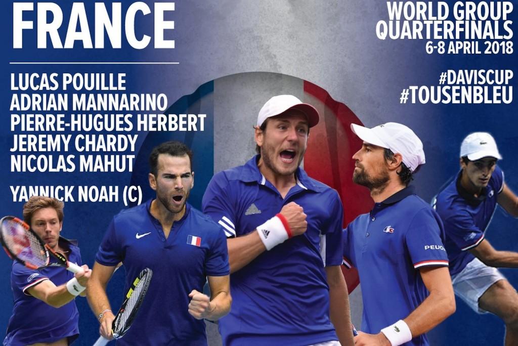 Coupe Davis : Le topo de Noah avant Italie-France