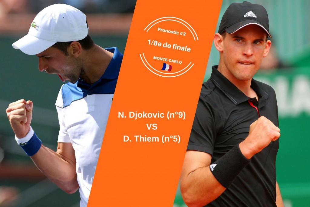 Monte-Carlo, le match du jour : Djokovic-Thiem