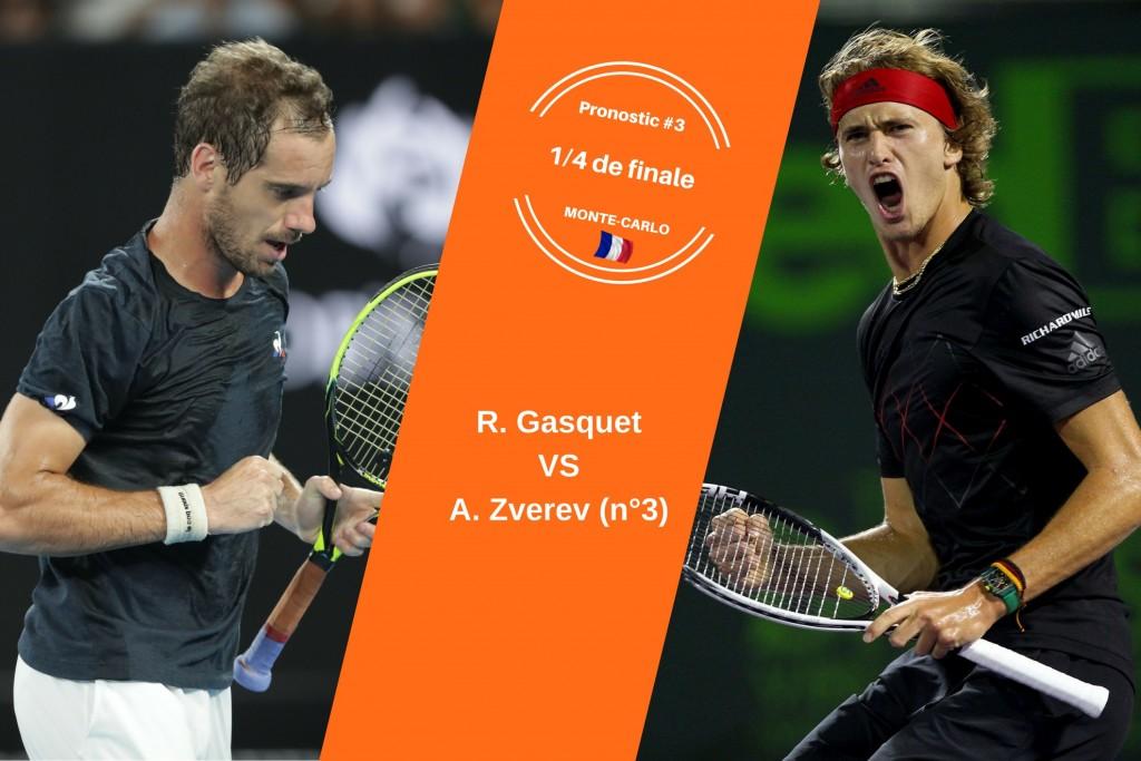 Monte-Carlo, le match du jour : Gasquet-Zverev