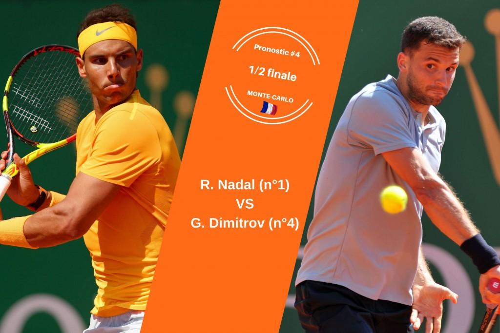 Monte-Carlo, le match du jour : Nadal-Dimitrov
