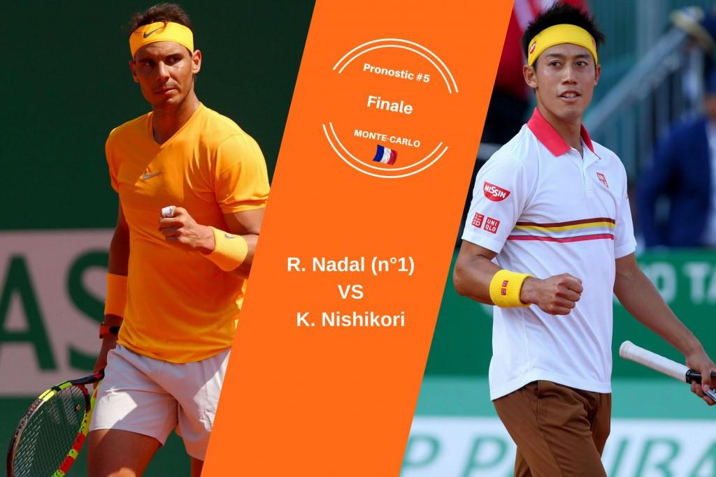 Monte-Carlo, le match du jour : Nadal-Nishikori