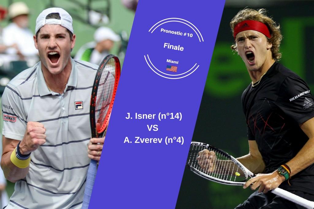 Miami, le match du jour : Isner-Zverev