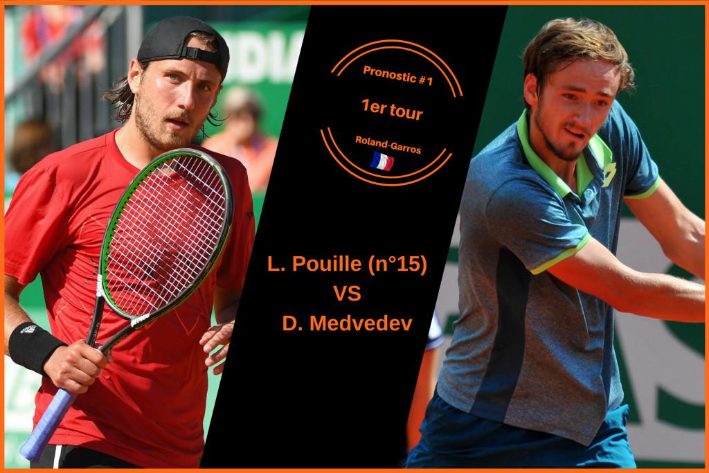 Roland-Garros, le match du jour : Pouille-Medvedev
