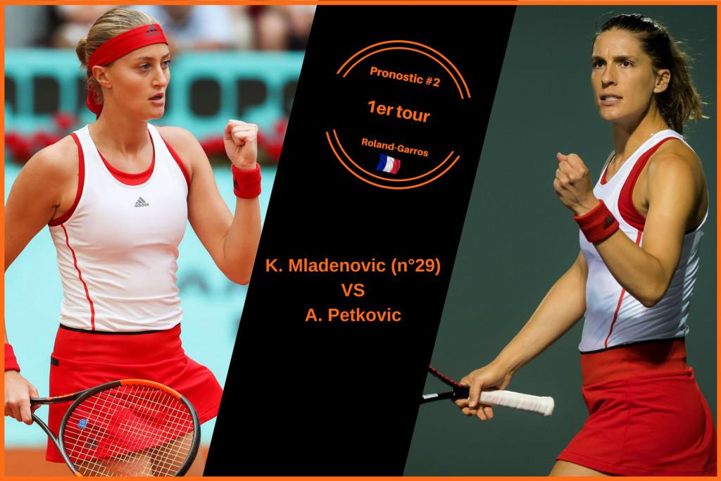 Roland-Garros, le match du jour : Mladenovic-Petkovic