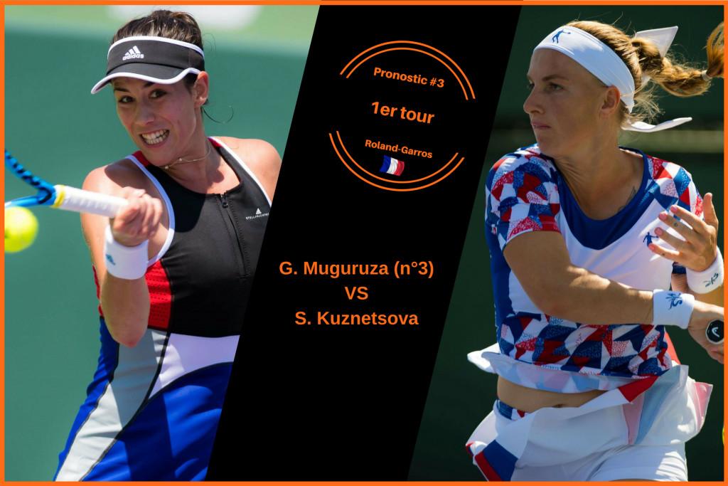 Roland-Garros, le match du jour : Muguruza-Kuznetsova