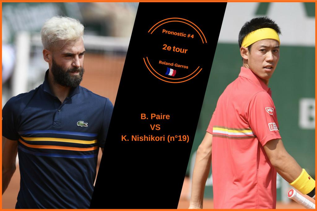 Roland-Garros, le match du jour : Paire-Nishikori