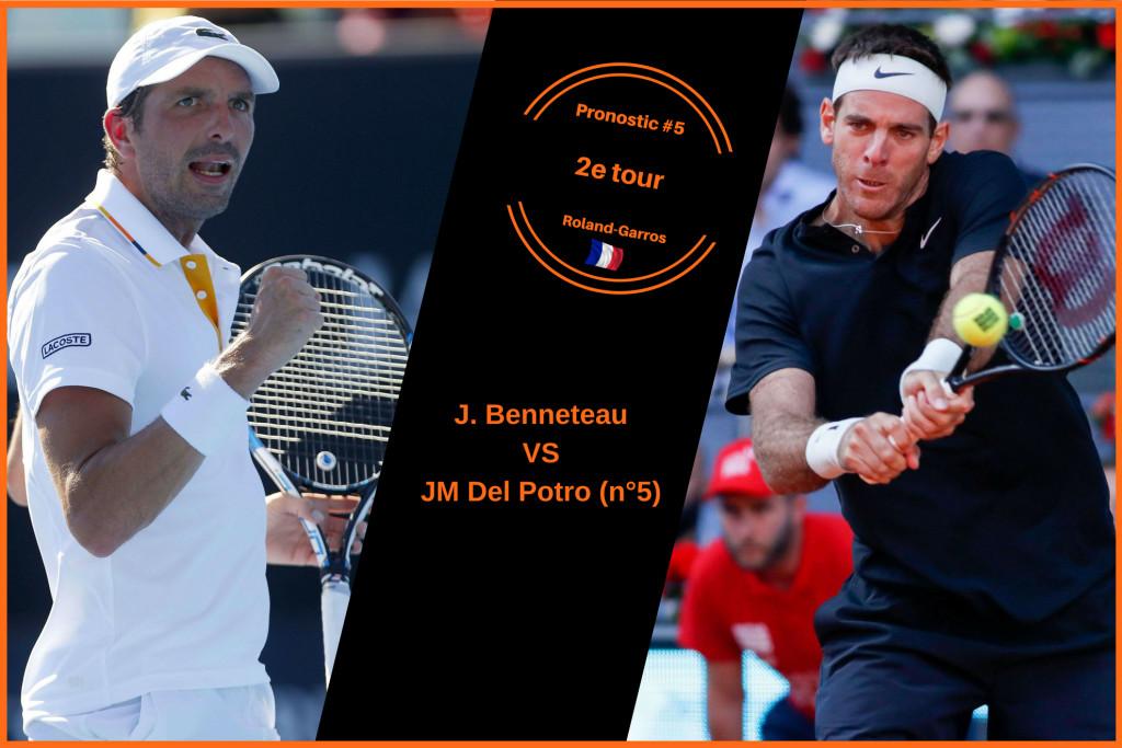 Roland-Garros, le match du jour : Del Potro-Benneteau