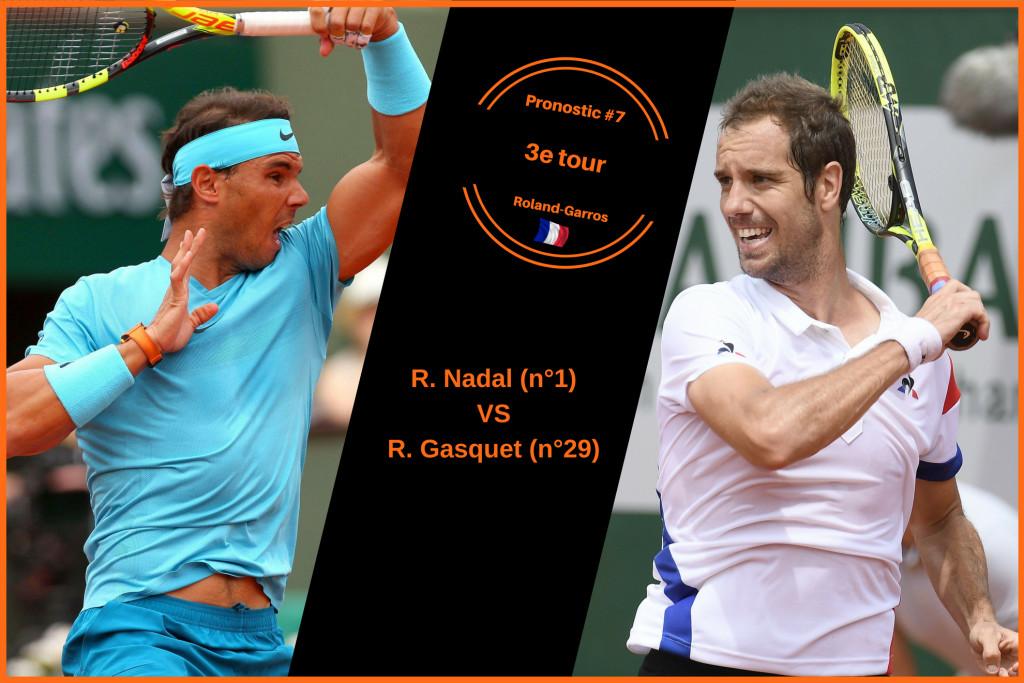 Roland-Garros, le match du jour : Nadal-Gasquet
