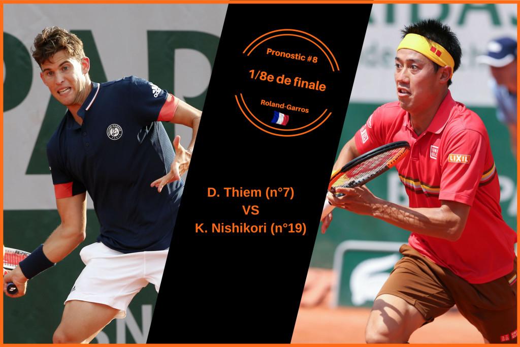 Roland-Garros, le match du jour : Thiem-Nishikori