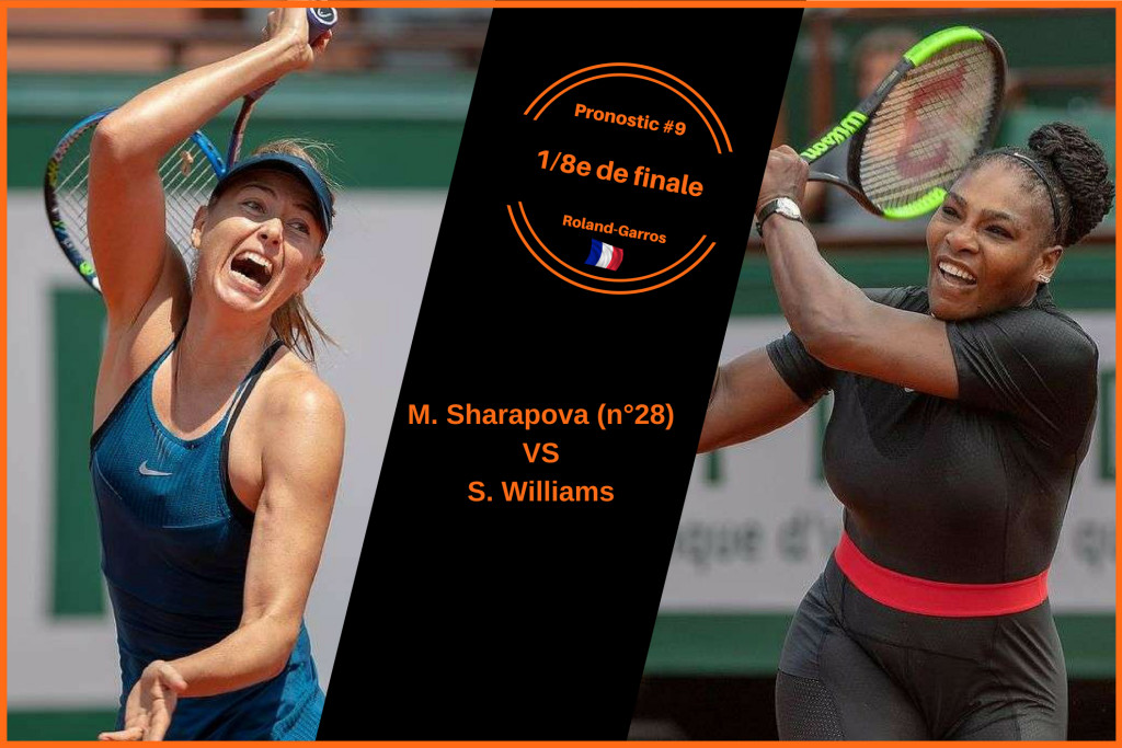 Roland-Garros, le match du jour : Sharapova-Williams
