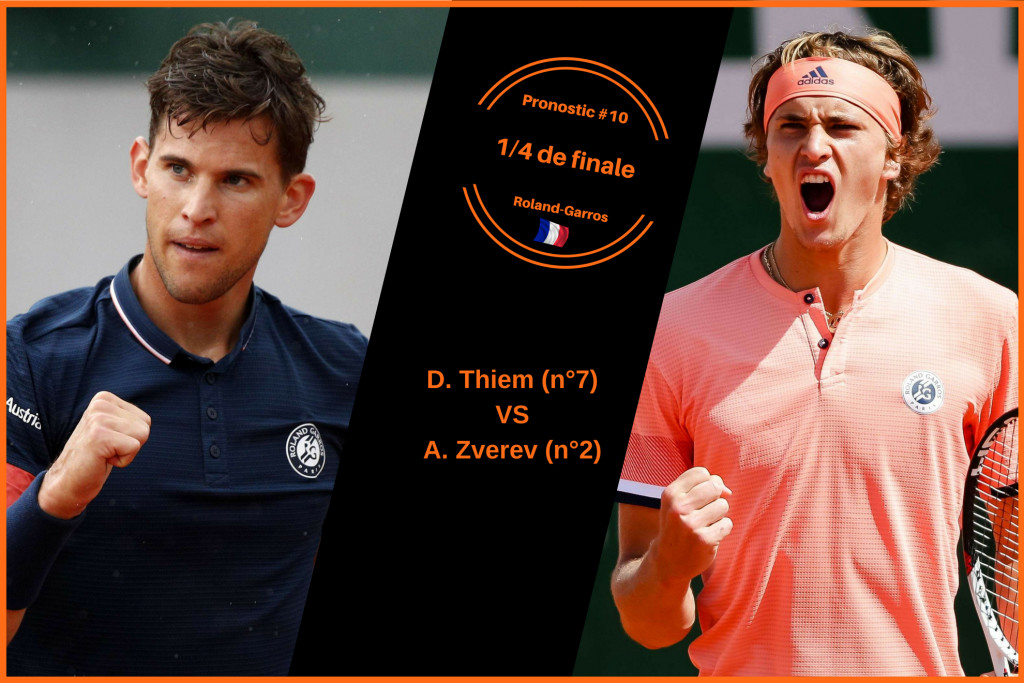 Roland-Garros, le match du jour : Thiem-Zverev