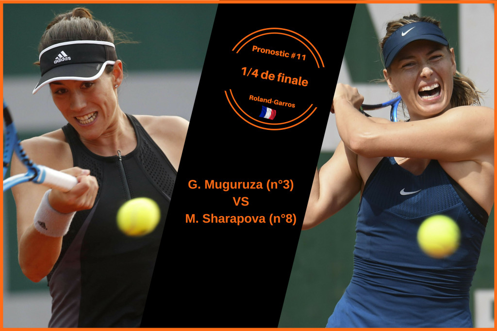 Roland-Garros, le match du jour : Muguruza-Sharapova