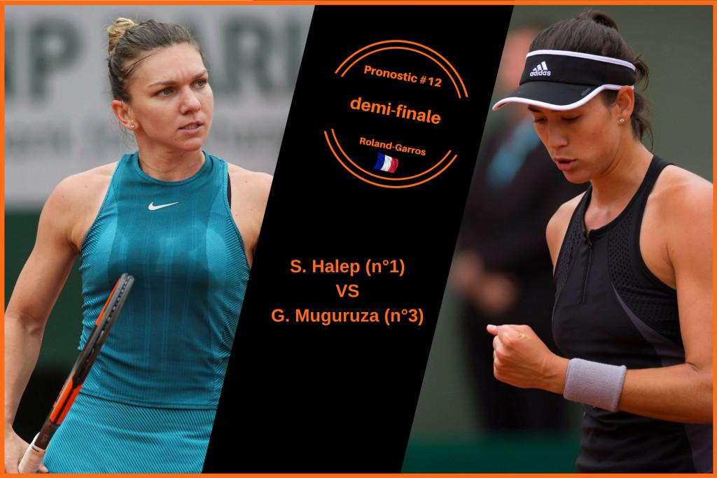 Roland-Garros, le match du jour : Halep-Muguruza