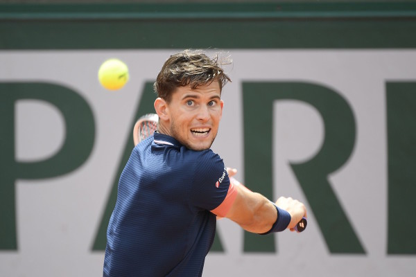 Dominic Thiem during his match against Marco Cecchinato in Roland Garros stadium on friday june 8, 2018. Paris. .//SAIDICHRISTOPHE_1501.1140/Credit:CHRISTOPHE SAIDI/SIPA/1806091801