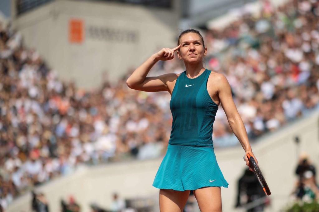 Roland-Garros : Simona Halep, la tête la première