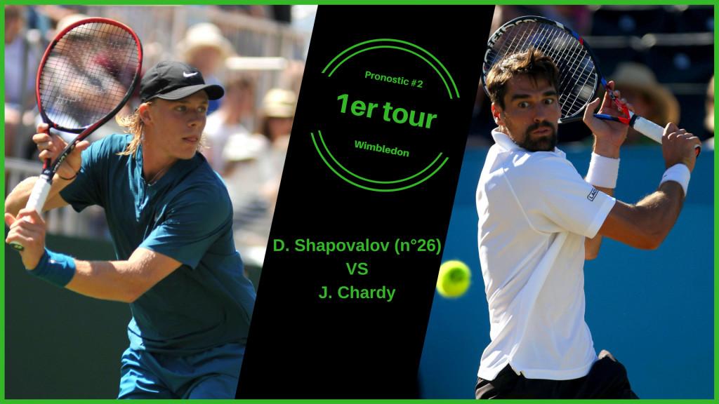 Wimbledon, le match du jour : Shapovalov-Chardy
