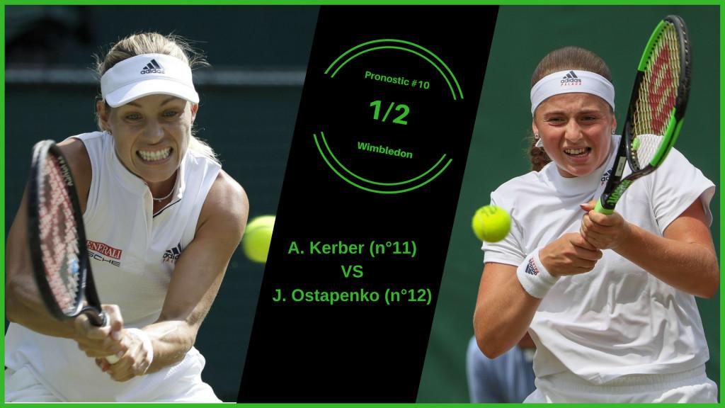 Wimbledon, le match du jour : Kerber-Ostapenko