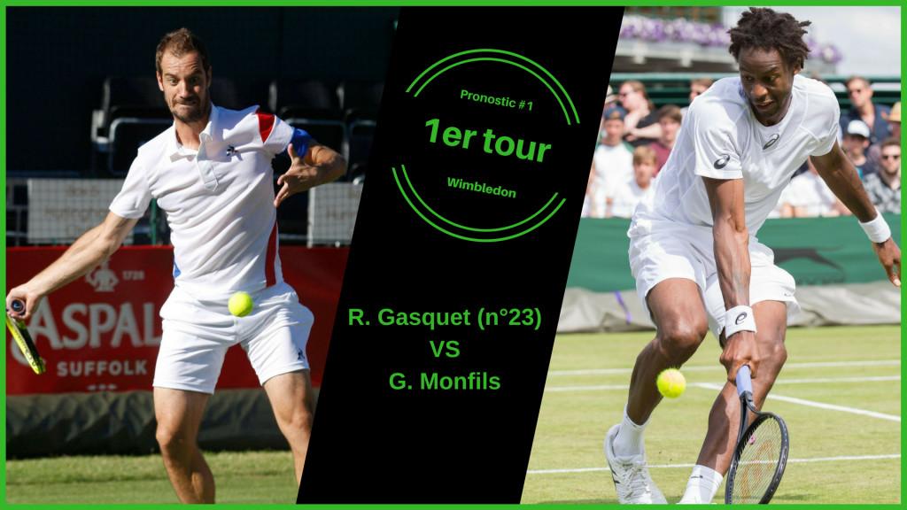 Wimbledon, le match du jour : Gasquet-Monfils