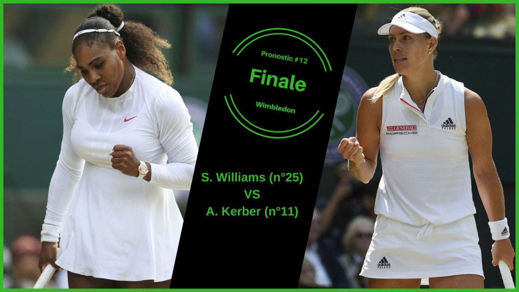Wimbledon, le match du jour : S.Williams-Kerber